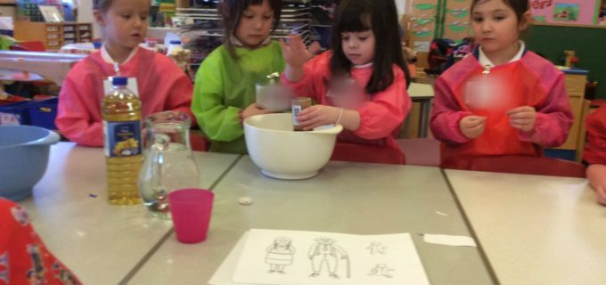 Following Recipe in P1